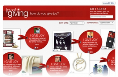 Get in the Holiday Spirit with J.C. Penney's 'Joy of Giving' Campaign