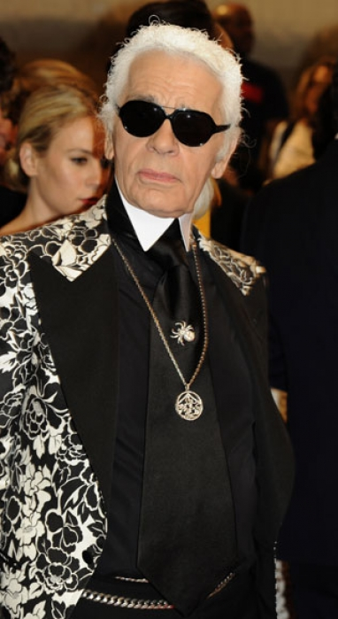 Karl Lagerfeld: Living life to the utmost