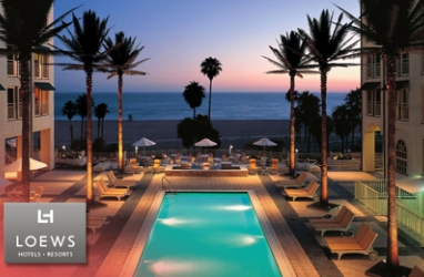 LUX-Getaway: Loews Santa Monica Beach Hotel, Opens New Eco-Spa and Gym