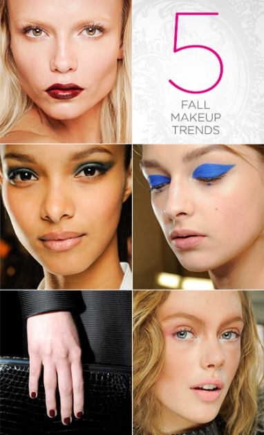 LUX Beauty: 5 Fall 2012 beauty trends