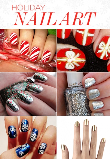 LUX Beauty: Holiday Nail Art