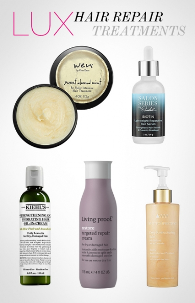 LUX Beauty: best treatments for damaged hair