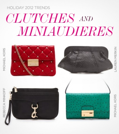 Holiday 2012 Trends: Clutches and Miniaudieres