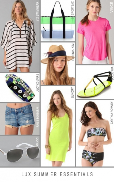 LUX Summer essentials guide