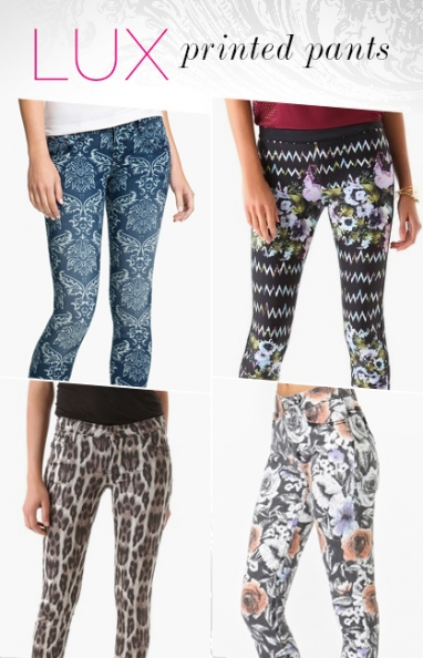 LUX Style: printed pants