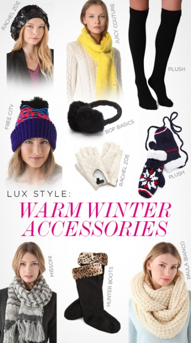 LUX Style: Warm Winter Accessories