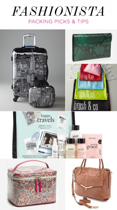 LUX Travel: fashionista packing picks & tips