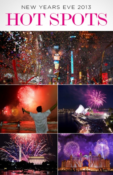 LUX Travel: Hot Spots to Celebrate New Year's Eve 2013