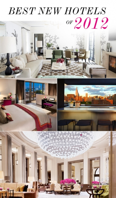 LUX Travel: best new hotels of 2012