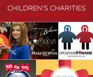 5 Children's Charities to Support This Holiday Season