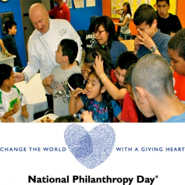 National Philanthropy Day to Honor Those Who Give Back