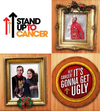 Fight Cancer Beautifully with SU2C's Ugly Holiday Sweater Campaign