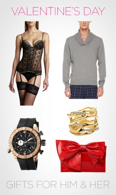 Valentine's Day: Gifts for Him and Her