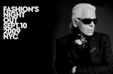 Karl Lagerfeld to Mind the Chanel Boutique in Paris for Fashion Night Out