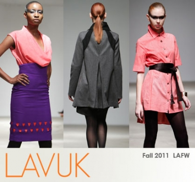 Natasha Gindin's LAVUK Turns Fashion Week Green