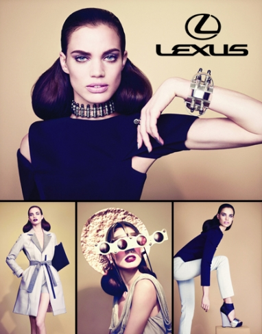 Lexus challenges fashion designers to create accessories from dismantled car