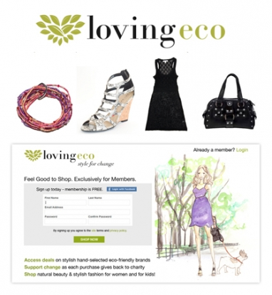 New LovingEco website offers eco-friendly fashion for less