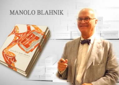 Manolo Blahnik greets fans at Neiman Marcus