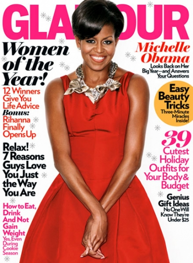 Michelle Obama Tops the List for Glamour's 2009 Women of the Year