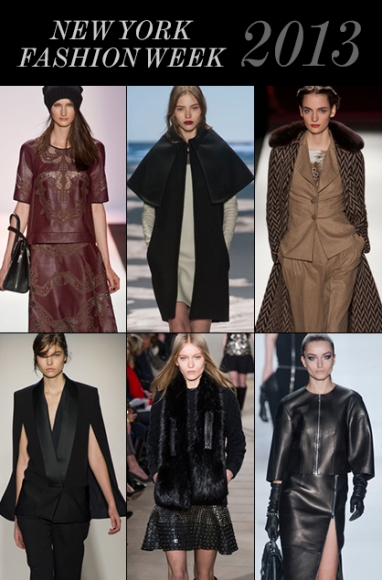 NYFW Fall and Winter 2013 Trends Recap