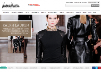 Neiman Marcus focuses on international sales