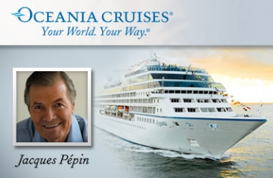 LUX-Travel: Oceania Cruises Partners with Master Chef Jacques Pepin to Open French Bistro