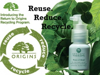 "Reduce, Reuse, & Recycle With ""Return to Origin"""