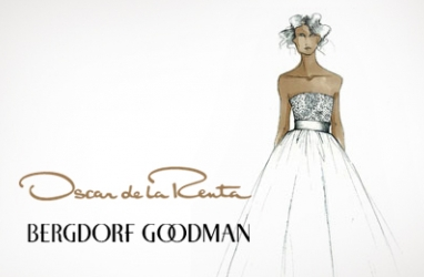 Bergdorf Goodman Launches New Oscar de la Renta Wedding Dress Collection