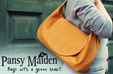 ECO Fashion: Explore Pansy Maiden Handbags