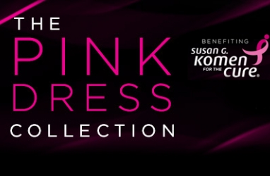 For the Cure:  The Pink Dress Collection