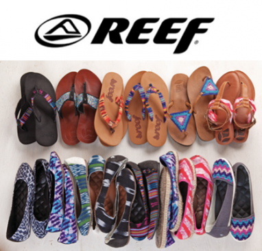 Surf Label Reef's Eco-Friendly Sandals, Shoes and Bags