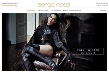 Sergio Rossi launches e-commerce site