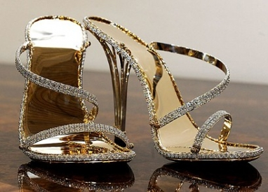 Check out the world's nearly most expensive pair of shoes