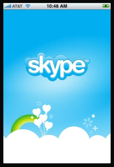 Skype and iPhone Marry!!