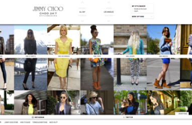 Jimmy Choo launches new site Choo 24:7 Stylemakers to show off street style