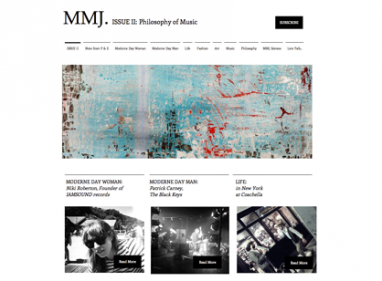 Newly launched Mode-Moderne Journal celebrates music in second issue