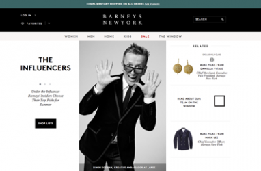 Barneys.com gets a makeover