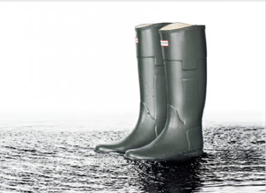 Hunter and Gilles Mendel collaborate for limited edition Wellington boots line