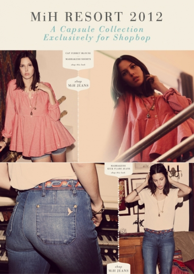 Shopbop partners on resortwear with MiH Jeans