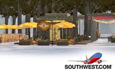 Celebrating NYC: Southwest Opens 'The Southwest Porch' at Bryant Park