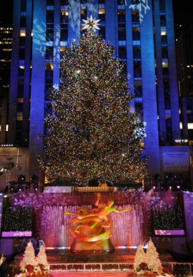 New Swarovski Holiday 'Crystal Star' Revealed for Rockefeller Center Christmas Tree