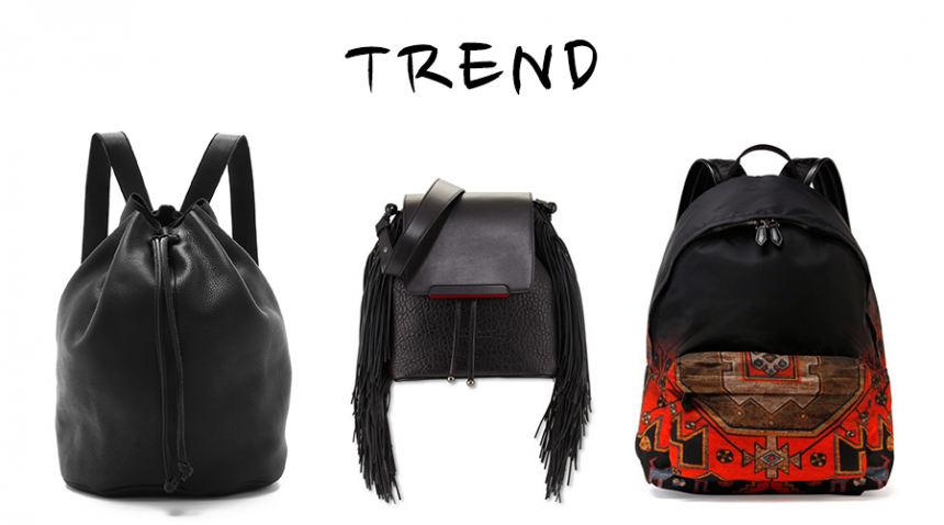 In-stores Now: Top 12 Black Backpacks We Love for Fall 2015