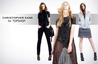 Christopher Kane Releases Fall Collection at Topshop