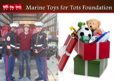 Toys for Tots spreads joy of holiday season