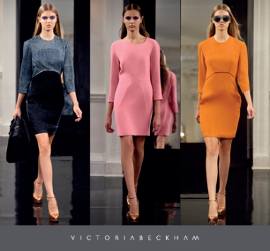 Victoria Beckham shows girly side with new dress collection