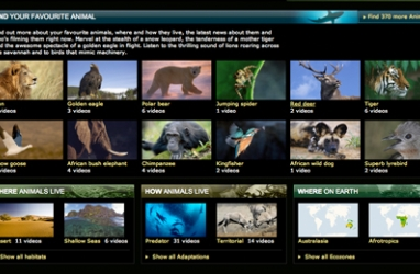 BBC Launches Largest Virtual Zoo Online