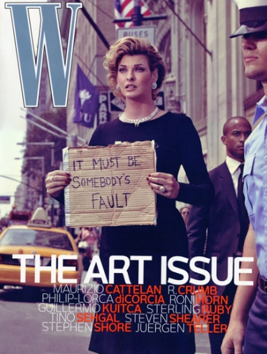 W Magazine November 'Art Issue' Sparks Controversy