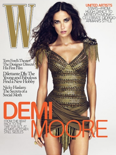 W Magazine Exclusive with Demi Moore