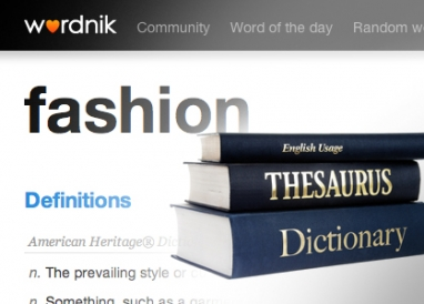New website Wordnik provides dictionary with a kick