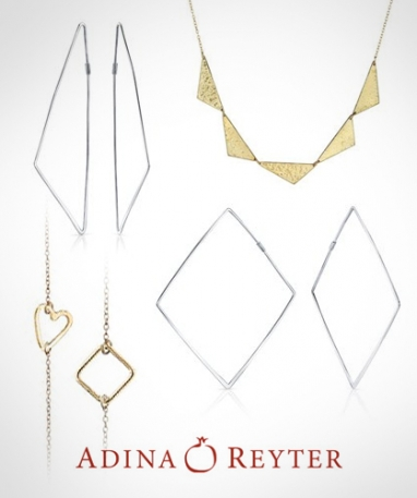 Adina Designs offers simple, understated jewelry